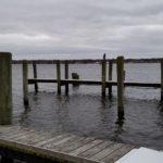 Empty Docks on Lake Macatawa | Michigan Captain